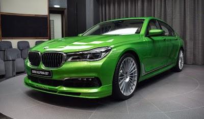 Καταπράσινο αμάξωμα για την γρηγορότερη BMW Σειρά 7 στον κόσμο!