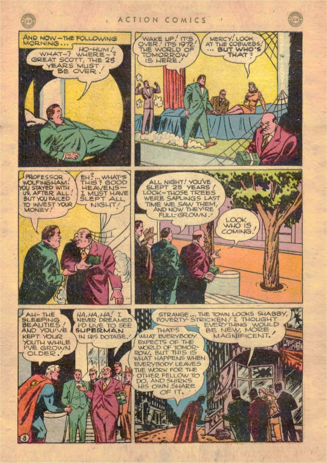 Read online Action Comics (1938) comic -  Issue #107 - 9