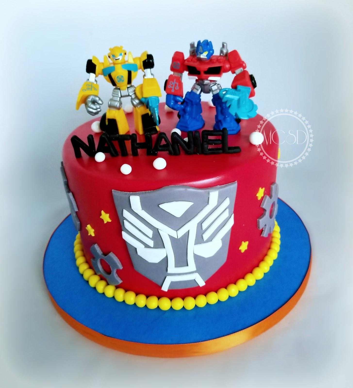 Transformers Birthday Cake Design Michaelieclark