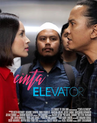 Cinta Elevator, Telemovie, Telefilem, Telemovie Cinta Elevator, Telefilem Cinta Elevator, Sinopsis Cinta Elevator, Astro Citra, Slot Citra Exclusive, 2018, Cast, Pelakon Telemovie Cinta Elevator, Beto Kusyairy, Jasmine Suraya, Mustaqim Mohamed, Marsha Milan, Dian P.Ramlee, Hefny Sahad, Marisa Yasmin, Poster,