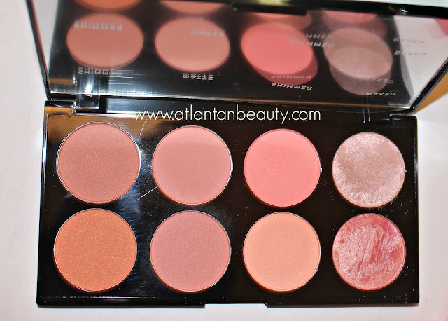 Makeup Revolution Blush Palette in Hot Spice