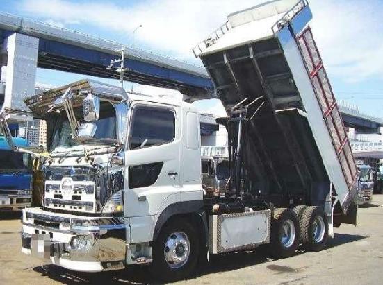 gambar dump truk tonton hino modifikasi