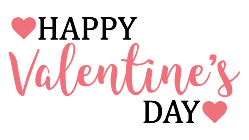 How We celebrate Valentine's Day.