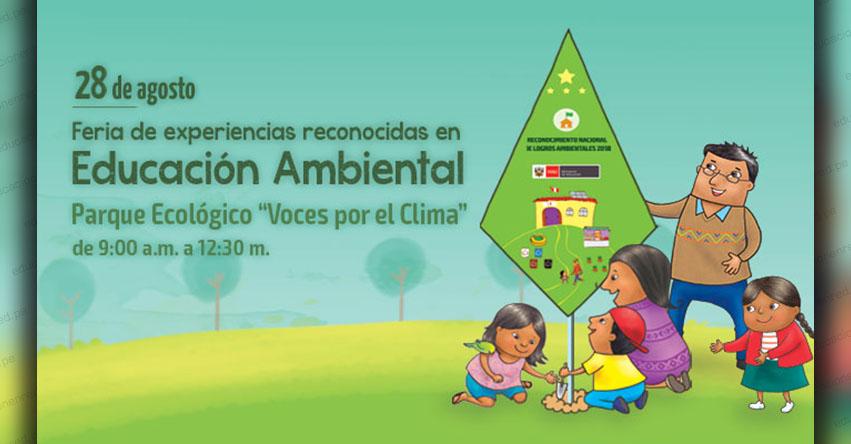 MINEDU reconocerá logros ambientales a Instituciones Educativas a nivel nacional - www.minedu.gob.pe