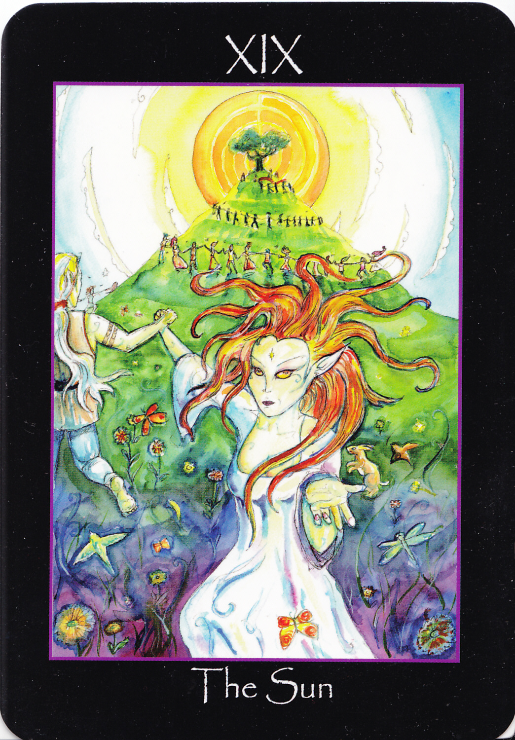 Rowan Tarot December 2012: Rowan Tarot: An Invocation Of The Fey
