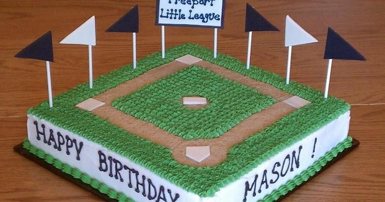 Simply Sweet Mason S Baseball Cake