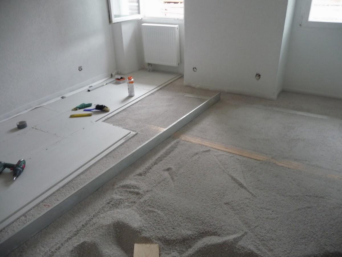 r novations pose de la chape s che. Black Bedroom Furniture Sets. Home Design Ideas