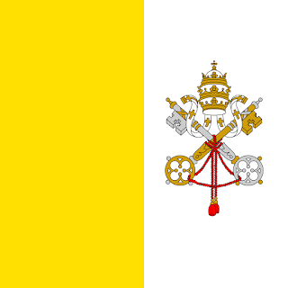 Vatican evil flag of satan