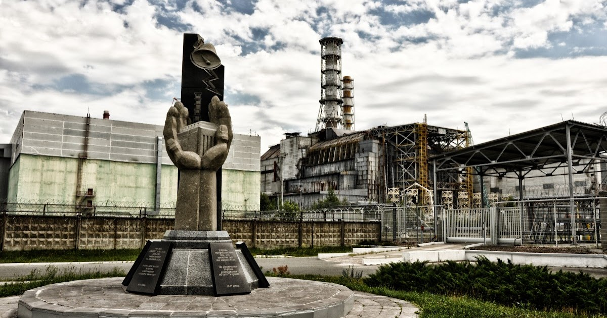 Flares Into Darkness Which Is Chernobyl S Monument