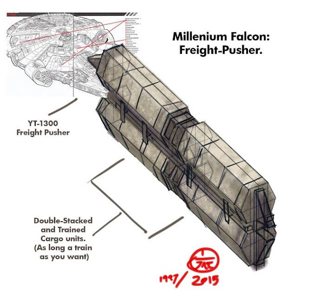 millenium falcon freight picture