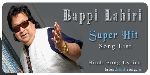 Bappi-Lahiri-Song-Lyrics-List