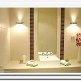 Modern bathroom light fixtures lowes