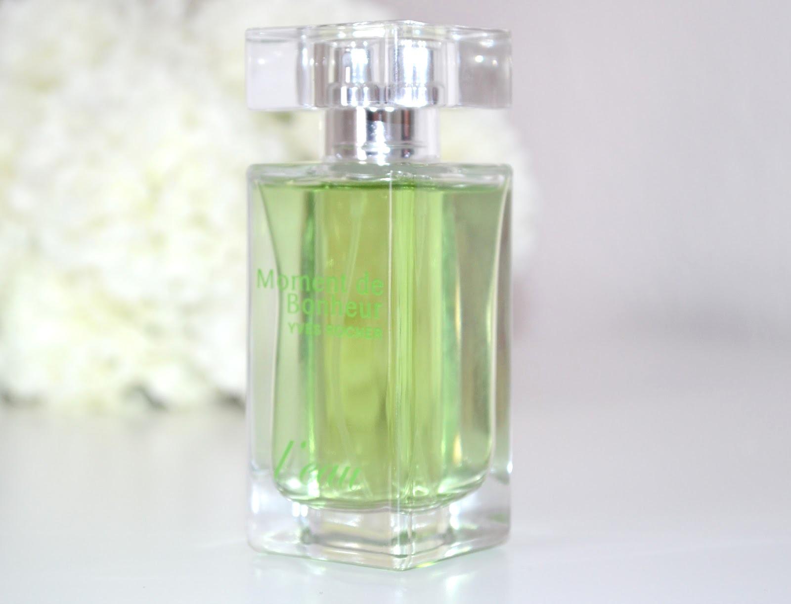 yves rocher, yves rocher perfume, yves rocher perfume review, french perfume, yves rocher moment de bonheur l'eau