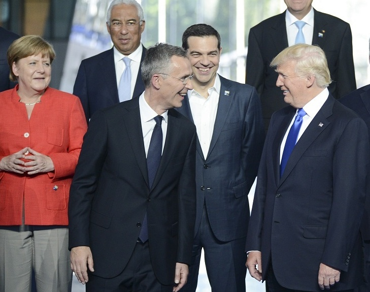 Trump and NATO secretary