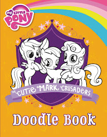 MLP The Cutie Marks Crusaders Doodle Book Book Media