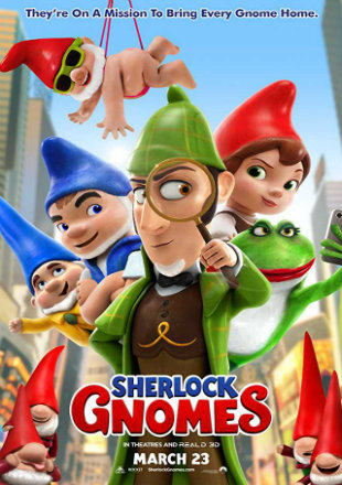 Sherlock Gnomes 2018 Full Hollywood English Movie Download HDCAM