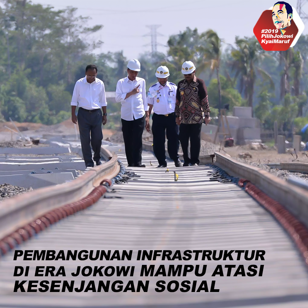 Pembangunan Infrastruktur Di Era Jokowi Mampu Atasi Kesenjangan Sosial