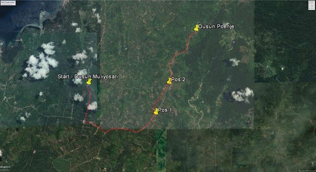 Dusun Poenje, Mamuju Utara