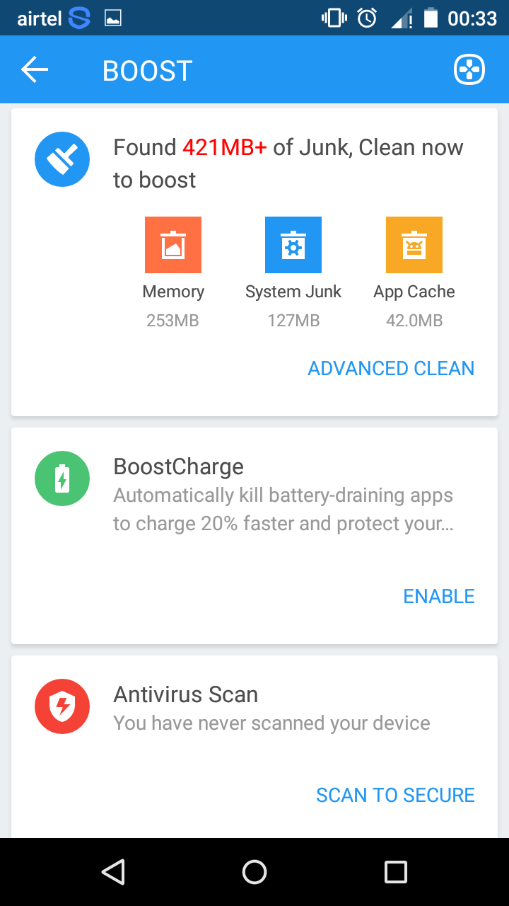 360 Degree Security Lite App for Android