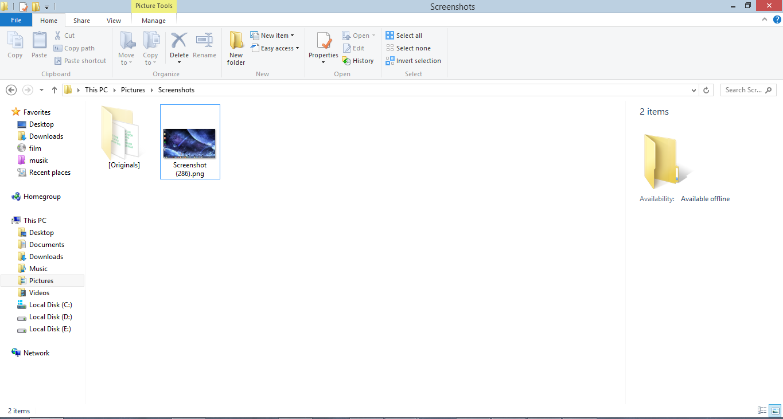 how to take screenshot in laptop windows 8