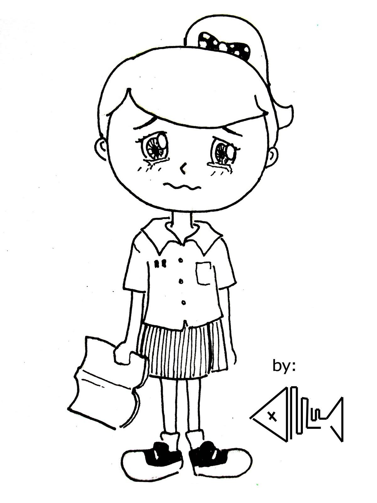 Contoh Gambar Karikatur Yang Gampang Koleksi Gambar Hd