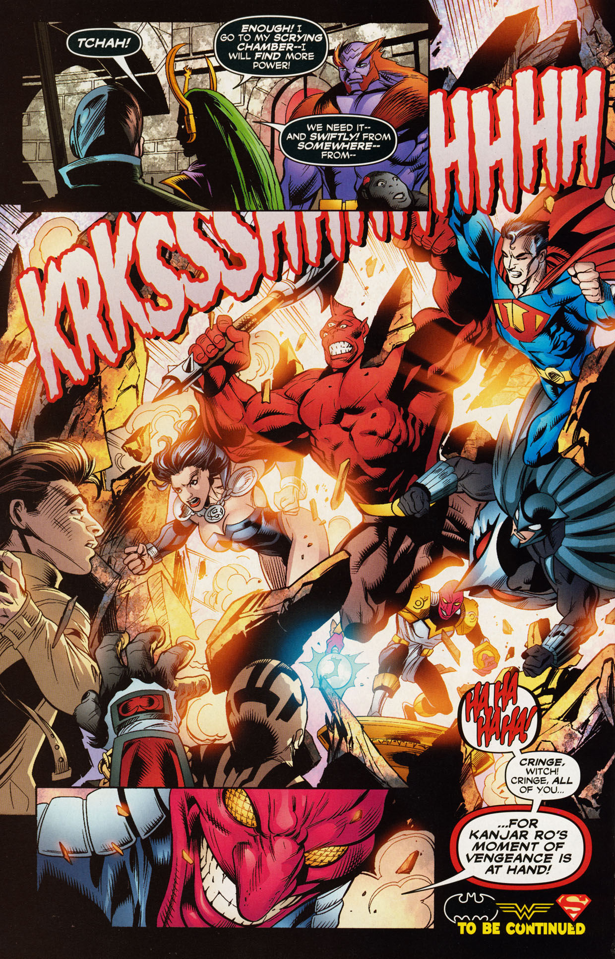 Read online Trinity (2008) comic -  Issue #43 - 17