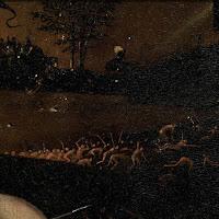 Détail du Jardin des Délices de Jérôme Bosch, Musée du Prado, Madrid