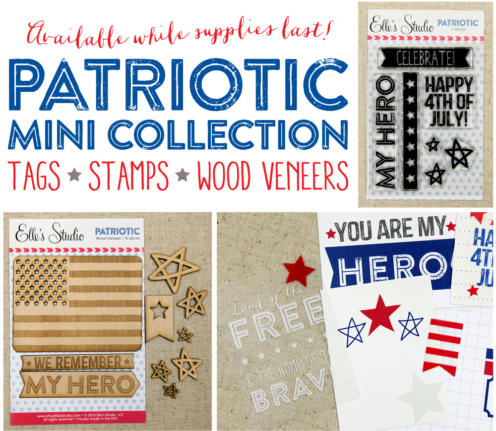 Elle's Studio Patriotic Mini Collection