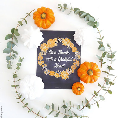 Free Printable Thanksgiving Chalkboard Sign