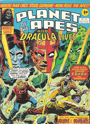Marvel UK, Planet of the Apes #113, Battle