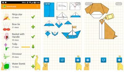 aplikasi origami di hp android
