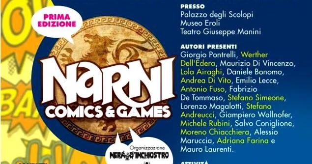 Narni Comics e Games 2016: riassuntone!