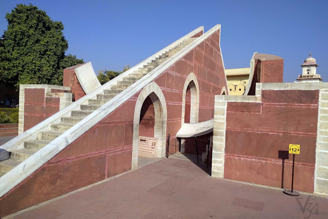 Jantar Mantar, an ancient astronomical wonder and a UNESCO World heritage site