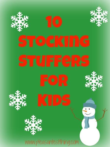 10 Stocking Stuffers for Kids