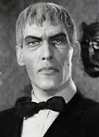 Fotografía del mayordomo de la familia Addams, interpretado por Ted Cassidy