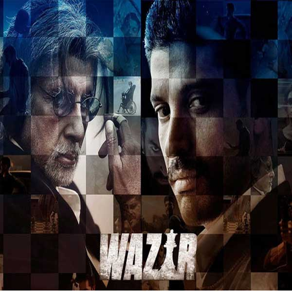 Wazir, Film Wazir, Wazir Synopsis, Wazir Trailer, Wazir Review, Download Poster Film Wazir 2016