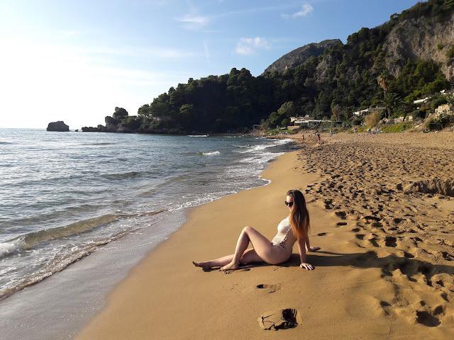Glyfada, Beach, Corfu