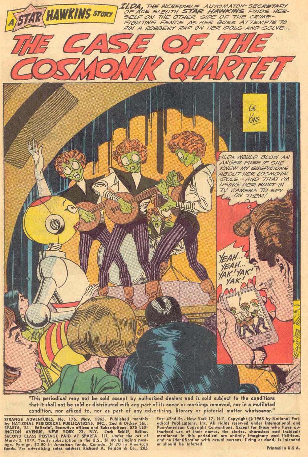 Strange Adventures (1950) issue 176 - Page 3