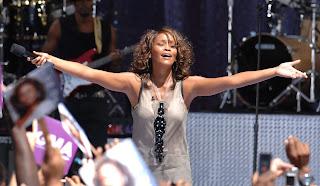 Whitney Houston best selling female artistes