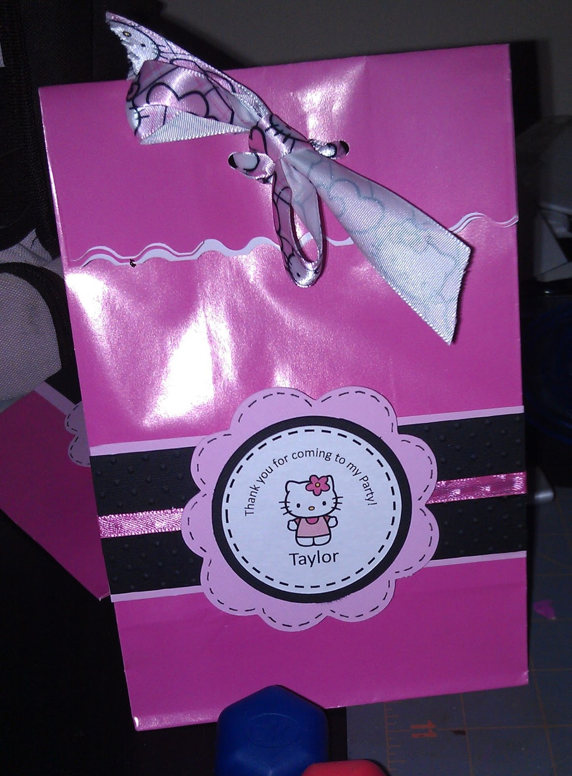 I made the gift bags for my daughter s birthday party. I purchased some  inexpensive chapstick 589a0ea2b080f
