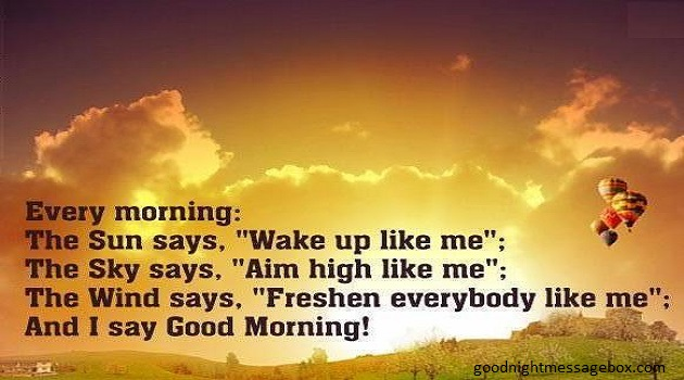 50+ Awesome Good Morning Quotes For Friends: Messages For Friends - Best Good Night Messages ...