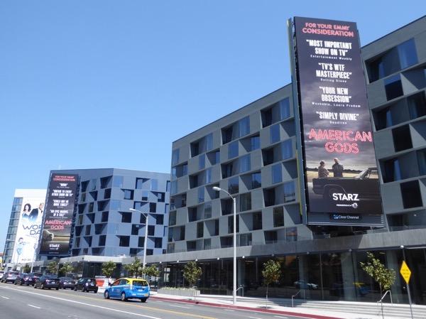 American Gods 2017 Emmy FYC billboards