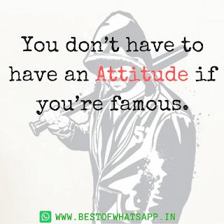 whatsapp dp attitude