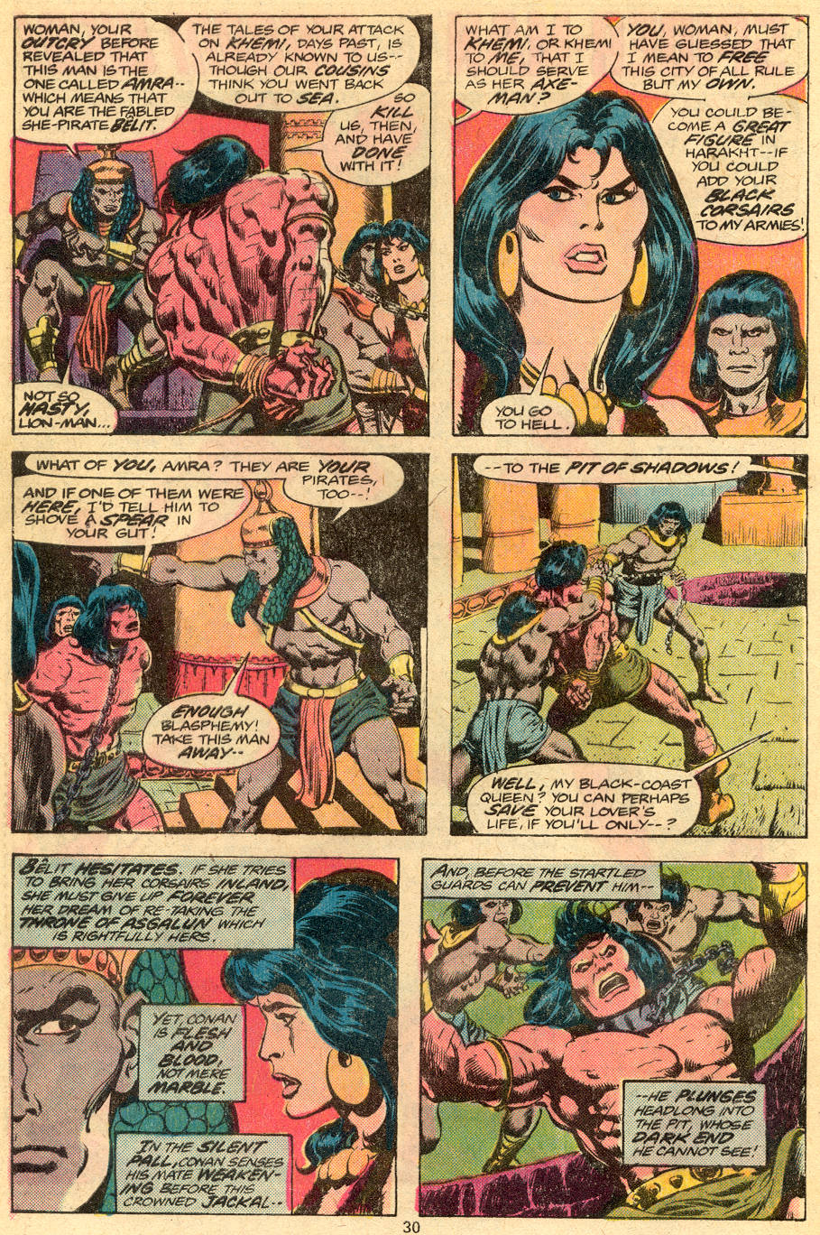 Conan the Barbarian (1970) Issue #76 #88 - English 17