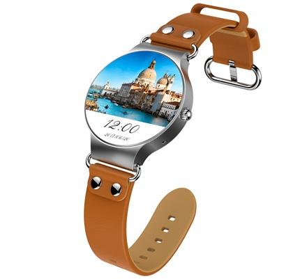 KingWear KW98: smartwatch 3G con monitor de ritmo cardíaco y podómetro