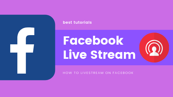 Live Stream On Facebook<br/>