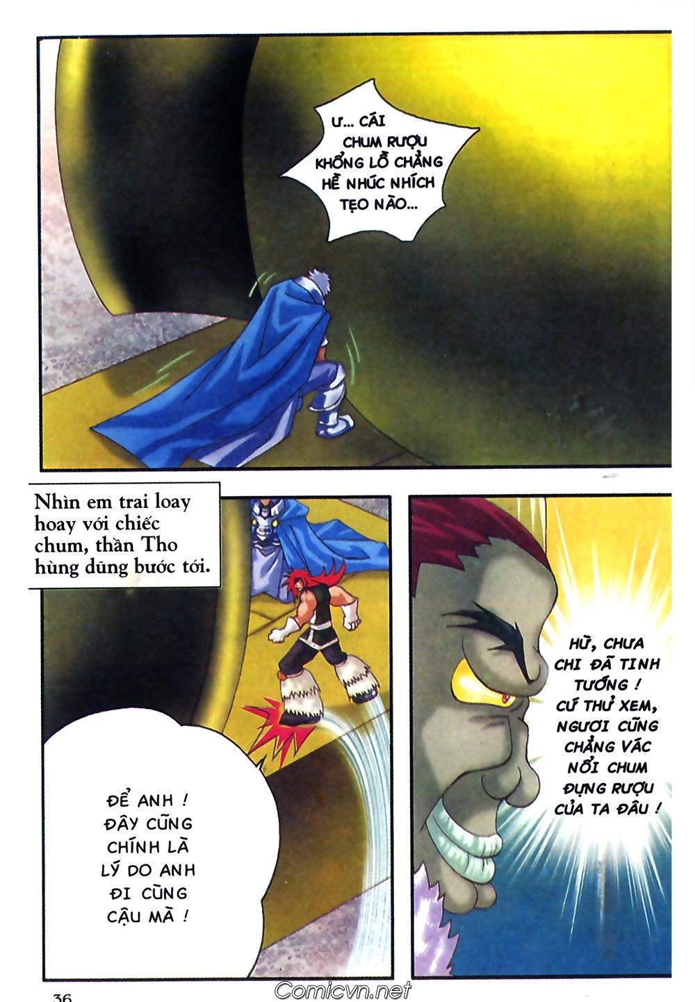 Thần thoại Bắc Âu - Chapter 37: Lão cha dượng xấu tính - Pic 37