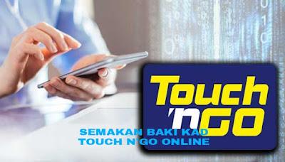 Semakan Baki Kad Touch n' Go Online