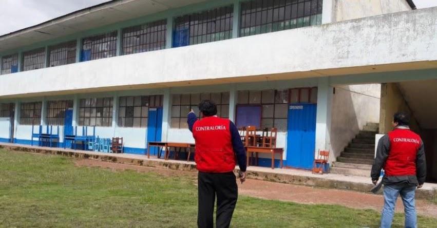 Identifican las mejoras a ejecutar en gestión e infraestructura en colegios de Pasco