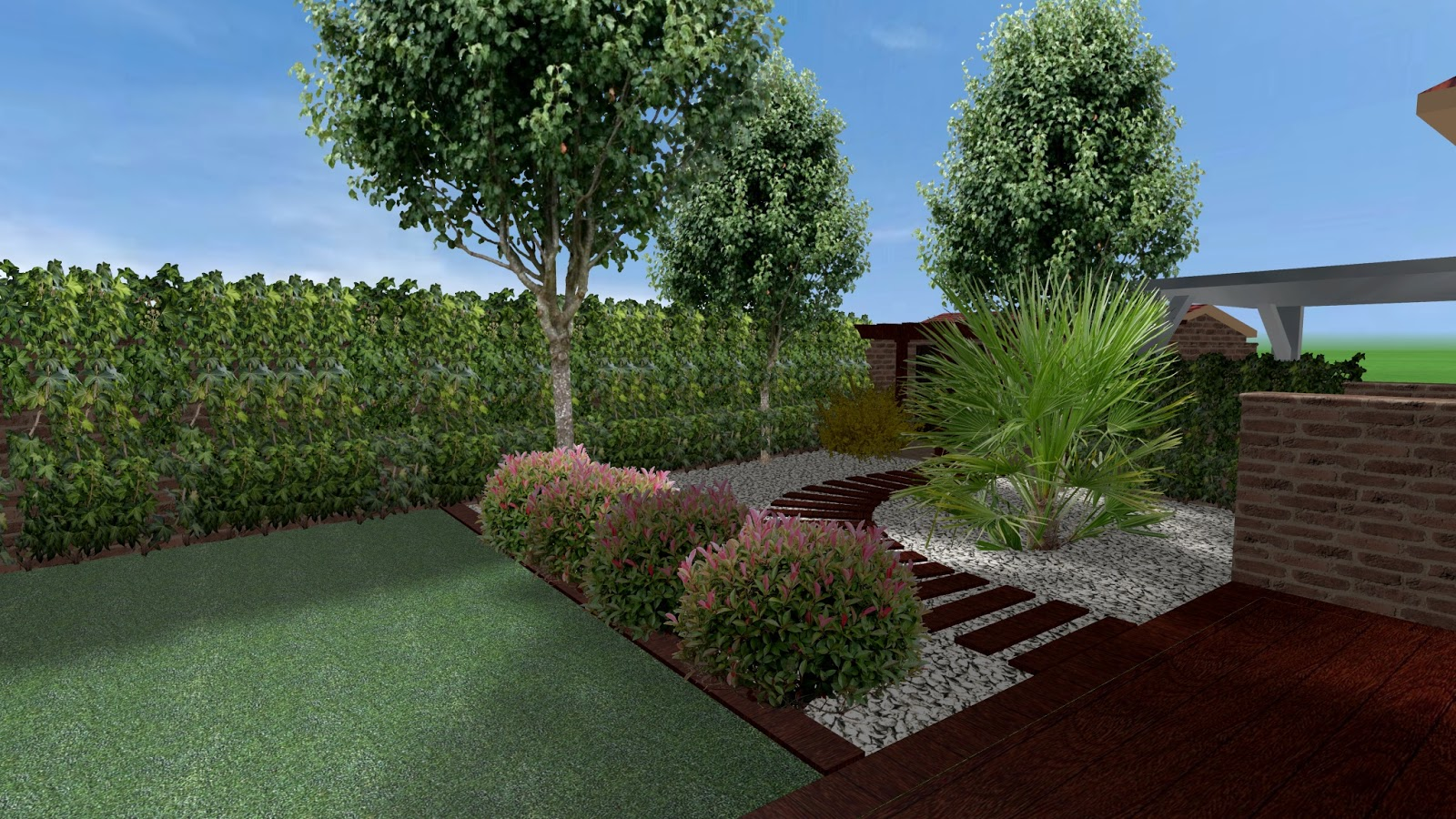 El jard n de marta dise o de jardines peque os for Diseno jardines